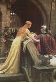 Edmund Blair Leighton (A Lady's Favor) Art Poster Print Masterprint