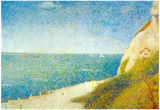 Georges Seurat The Beach Art Print Poster Poster
