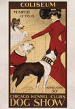 Chicago Kennel Clubs Dog Show Vintage Ad Poster Print Masterprint