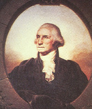 George Washington (Portrait, Color) Art Poster Print Prints
