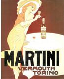 Martini Vermouth Torino Vintage Ad Art Print Poster Prints