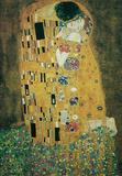 Gustav Klimt The Kiss, Le Baiser Art Poster Print Masterprint