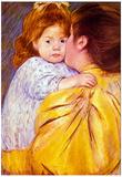 Mary Cassatt The Maternal Kiss Art Print Poster Prints