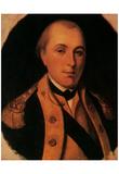 Marquis de Lafayette (Color Portrait) Art Poster Print Prints