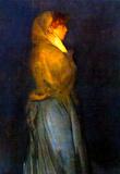 James Whistler Miss Rosalind Birnie Philip Standing Art Print Poster Masterprint