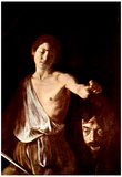 Michelangelo Caravaggio The Head of Medusa Tondo Art Print Poster Prints