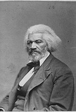 Frederick Douglass (Portrait) Art Poster Print Masterprint