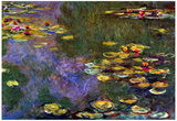 Claude Monet Water Lily Pond Giverny Art Print Poster Prints
