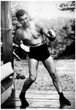 Jack Dempsey Boxing Pose Archival Photo Sports Poster Print Photo