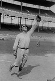 Jim Thorpe Reaching to Make a Catch for the New York Giants Archival Photo Poster Print Masterprint