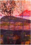 Egon Schiele Underground Sun Art Print Poster Prints
