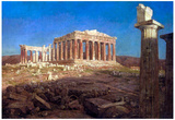 Frederick Edwin Church The Parthenon Art Print Poster Photo