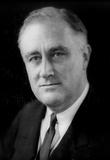 Franklin Delano Roosevelt (Portrait) Art Poster Print Masterprint