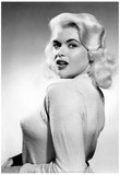 Jayne Mansfield Over the Shoulder Archival Photo Movie Poster Print Prints