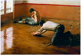 Gustave Caillebotte Floor Scrapers Art Print Poster Prints