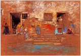 James Whistler The Steps Art Print Poster Prints