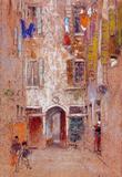 James Whistler Corte del Paradiso Art Print Poster Masterprint