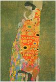 Gustav Klimt Abandoned Hope Art Print Poster Posters