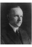 Calvin Coolidge (Portrait) Art Poster Print Print