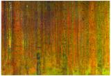 Gustav Klimt Tannenwald II Art Print Poster Poster