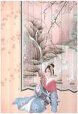 Japanese Girl Asian Floor Geisha Prints