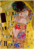 Gustav Klimt The Kiss Detail Art Print Poster Print