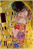 Gustav Klimt The Kiss Detail Art Print Poster Print