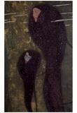 Gustav Klimt (Water Nymphs, Nixen) Art Poster Print Print