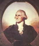 George Washington (Portrait, Color) Art Poster Print Masterprint