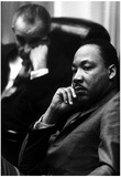 Martin Luther King Jr (With President Lyndon B Johnson) Art Poster Print Poster
