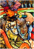 Henri de Toulouse-Lautrec In the Circus Art Print Poster Póster