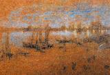 James Whistler Nocturne The Riva Art Print Poster Masterprint