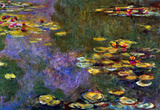 Claude Monet Water Lily Pond Giverny Art Print Poster Masterprint