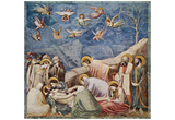 Giotto di Bondone (Fresco cycle in the Arena Chapel in Padua (Scrovegni-Kapelle), Szene: Mourning) Prints