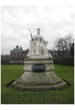 Kensington Gardens (Queen Victoria Statue) Art Poster Print Prints