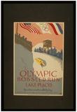 Lake Placid (Olympic Bobsled Run) Art Poster Print Photo