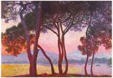 Claude Monet Juan Les Pins Art Print Poster Posters