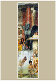 Lawrence Alma-Tadema A bathroom (An ancient tradition) Art Print Poster Prints