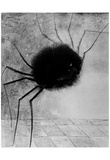 Odilon Redon (Smiling Spider) Art Poster Print Prints