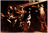 Michelangelo Caravaggio Appeals of St Matthew Art Print Poster Photo