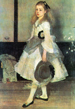 James Whistler Portrait of Miss Alexander Art Print Poster Masterprint