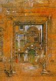 James Whistler San Giovanni Apostolo et Evangelista Art Print Poster Masterprint