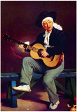 Edouard Manet Spanish Singer Art Print Poster Posters