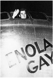Enola Gay (Col. Paul Tibbets Waving from Cockpit) Archival Photo Poster Prints