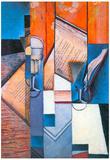 Juan Gris The Book 2 Cubism Print Poster Posters