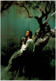 Gethsemane Art Print POSTER religious prayer Jesus God Poster