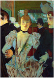 Henri de Toulouse-Lautrec La Goulue Entering the Moulin Rouge Art Print Poster Prints