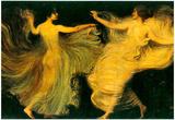 Franz von Stuck Two Dancers Art Print Poster Poster