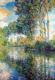 Claude Monet Poplars on the Epte Art Print Poster Masterprint