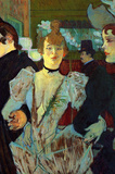 Henri de Toulouse-Lautrec La Goulue Entering the Moulin Rouge Art Print Poster Masterprint